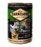 Carnilove Wild Meat - Duck & Pheasant 400g