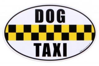 "Magnet ""DOG TAXI"""