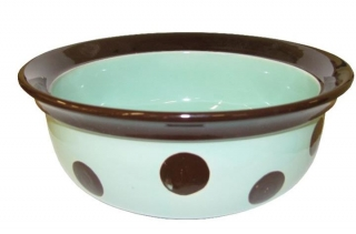 Porcelánová miska BROWN DOTS - 20 cm