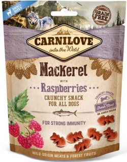 Carnilove Crunchy Snack Mackerel a Raspberries - 200 g