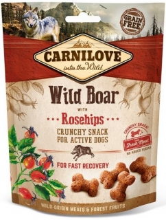 Carnilove Crunchy Snack WildBoar a Rosehips - 200 g