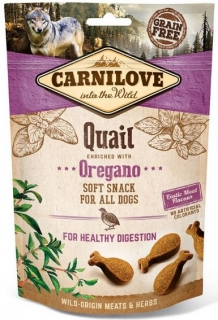 Carnilove Snack SemiMoist Quail and Oregano - 200 g
