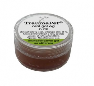 TraumaPet oral gel Ag 5 ml