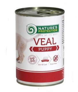 Nature´s Protection Puppy - telecí 400 g