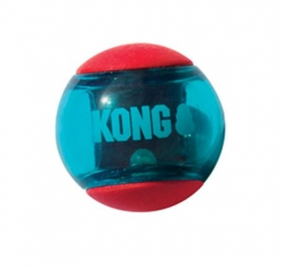 KONG Squeezz ACTION BALL - medium, 1 ks