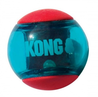 KONG Squeezz ACTION BALL - large, 1 ks