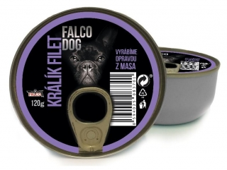 FALCO Dog - králičí filet 120g